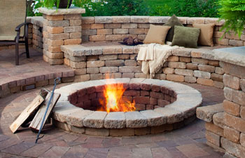 belgard pavers, springfield, mo, outdoor living area
