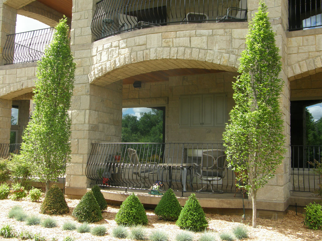 Earthworks Natural Stone : Fraley masonry stone experts country villa earthworks