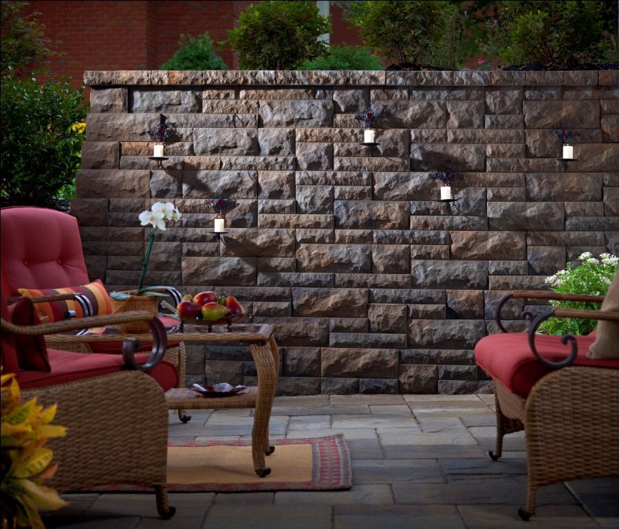Outdoor Living, Belgard Pavers, Belair Wall on Belgard Outdoor Living id=92065